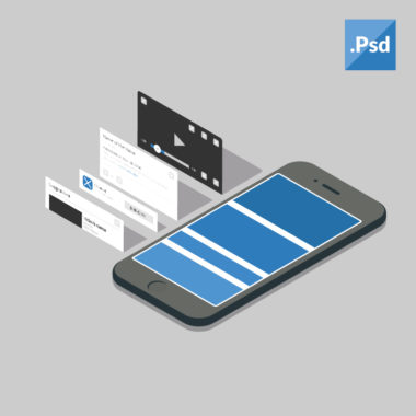Mobile App UI Design (1) (PSD)
