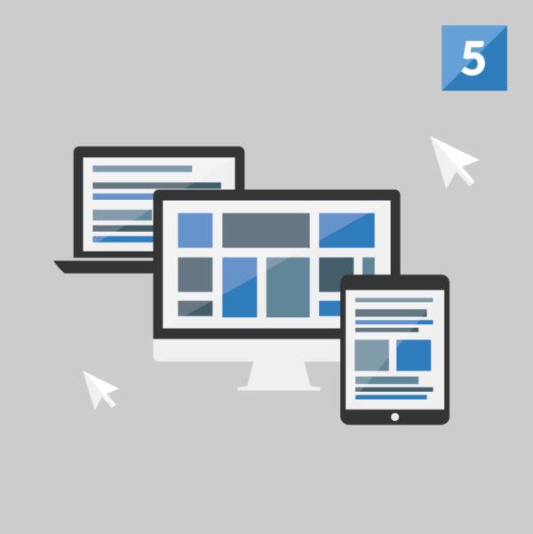 custom wordpress website design 5 pages