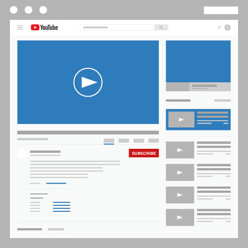 Video ads infographic for search engine marketing