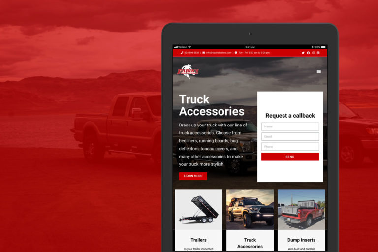 Fabins Trailers and Truck Accessories