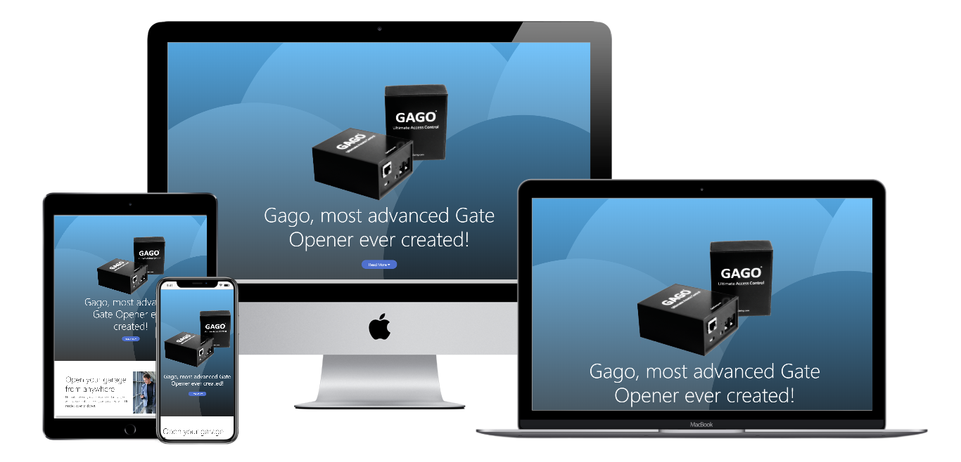 gago gategoing website live preview