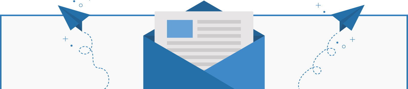 email campaign management infographic banner desktop