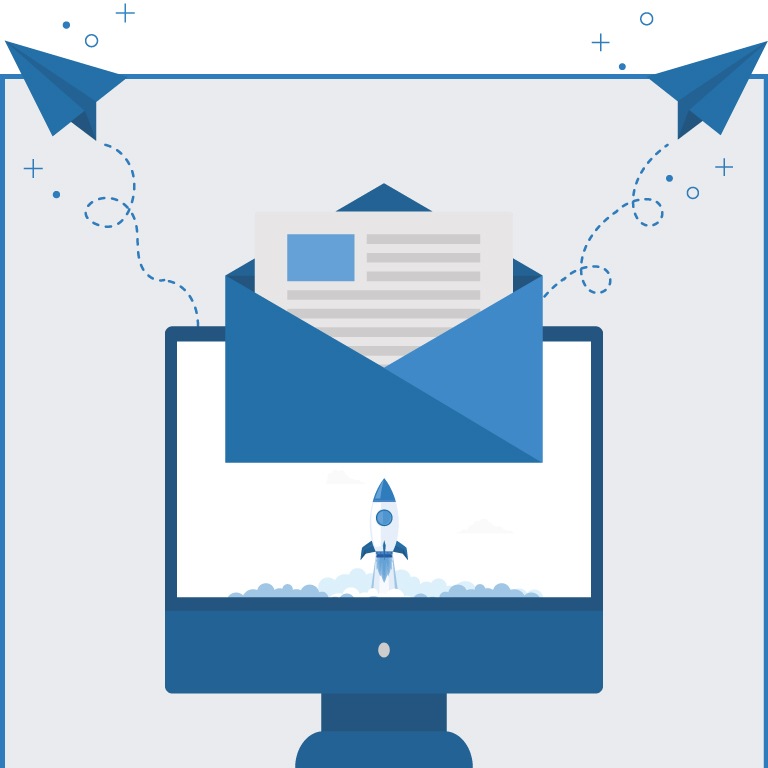 email campaign management infographic banner mobile