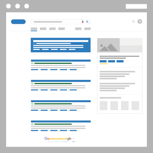Search ads infographic for search engine marketing two