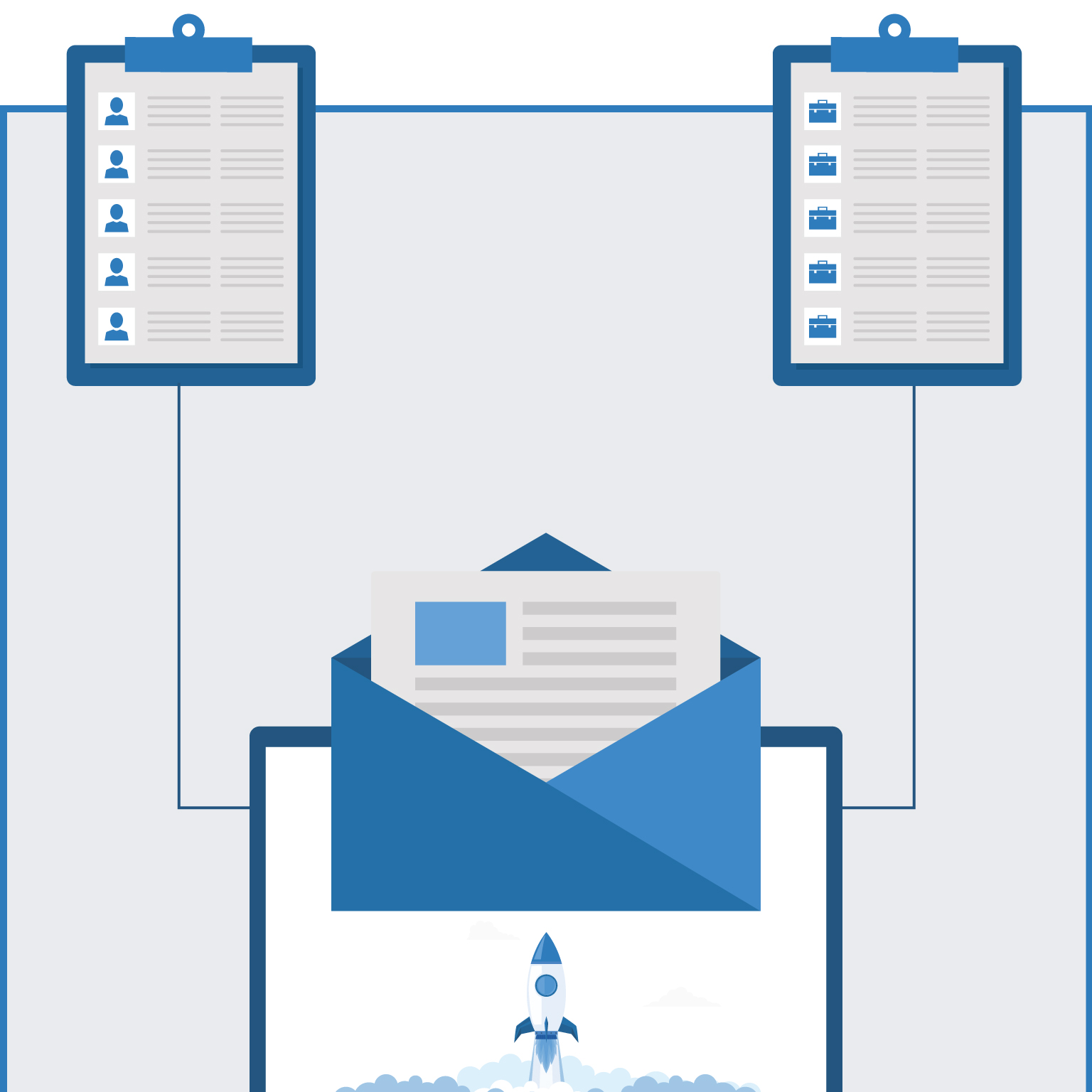 Email list building infographic mobile