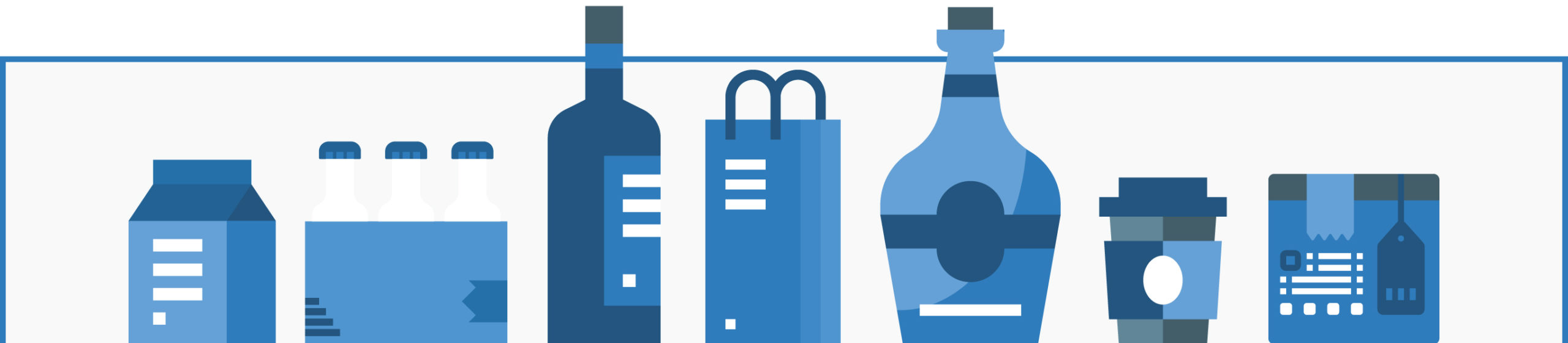 packaging design infographic banner desktop
